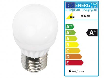 Ausgefallene LED Stehlampe mit STOFF Schirm höhenverstellbar in schwarz/gold E27 - Vorschau 5