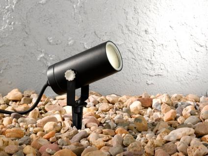 Außenleuchte mit Erdspieß oder Außenwandleuchte GU10, Gartenlampe Wegelampe - Vorschau 3