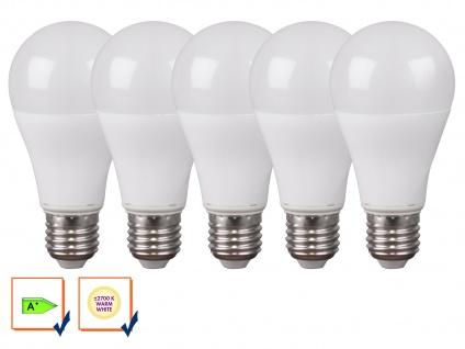 5er-Set LED-Leuchtmittel E27, 15W, 1520 Lumen, 2700 Kelvin, EEK A+