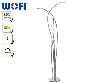 LED Stehlampe, Fernbedienung, Dimmer, Memory, Wofi-Leuchten