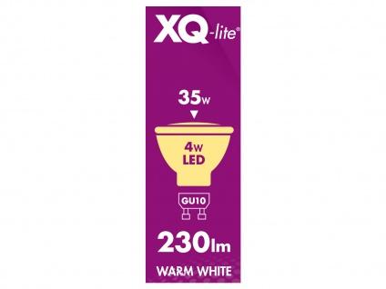 LED Leuchtmittel 4Watt, Reflektor, warmweiß, GU10, 230 Lumen XQ-Lite - Vorschau 5