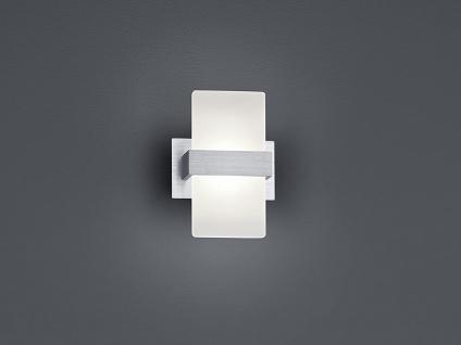 Trio LED Wandleuchte PLATON 13x18cm mit Schalter, Wandlampe Flur Wohnzimmer - Vorschau 4