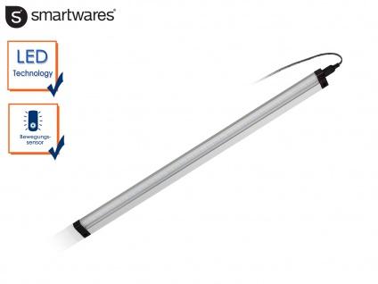 LED-Lichtleiste mit Bewegungssensor 2 Funktionen L 46cm Einbau in Schränke Möbel