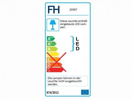 Dimmbares LED Sternenhimmel Deckenlampenset je 80cm, Textilschirm schwarz silber - Vorschau 2