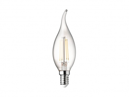 Sturmkerze Filament LED dimmbar E14 Leuchtmittel Vintage für Kronleuchter 3 Watt - Vorschau 2