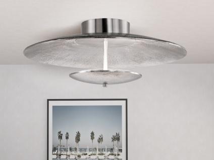 LED Luxus Deckenleuchte rund 50cm mit Fernbedienung für Dimmen & Farbwechsel