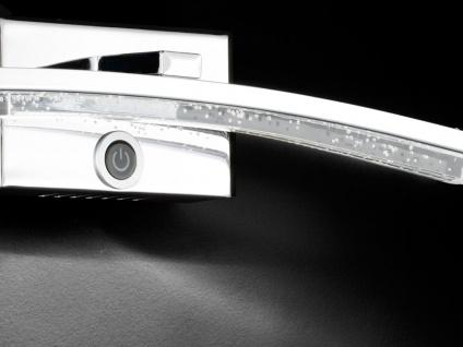 LED Wandleuchte mit Dimmer, Chrom / Acrylgas, Wofi-Leuchten - Vorschau 5