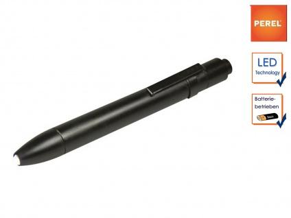 Mini Taschenlampe Befestigungsclip, LED Penlight Kugelschreiber Taschen Lampe