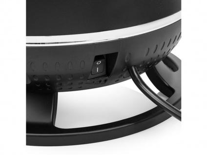 Elektroraumheizung 360° mit Thermostat & Zeitschaltuhr, Keramikheizlüfter rund - Vorschau 5