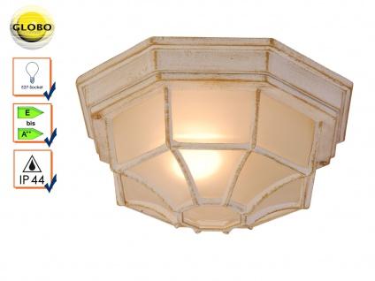 Globo Wandleuchte Deckenlampe Außenleuchte PERSEUS Beleuchtung Garten Terrasse