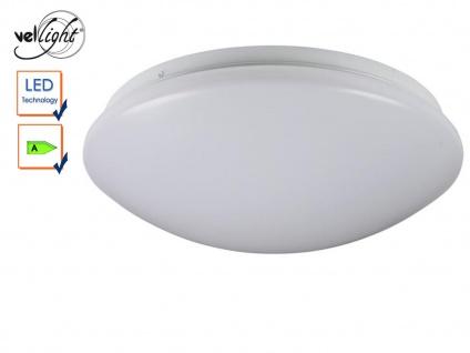 LED Deckenleuchte rund Deckenlampe weiß 33, 5cm, Deckenbeleuchtung Flur Diele