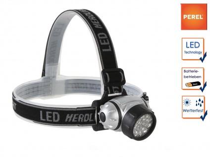 LED Stirnlampe Kopflampe ultra bright für Wandern, Trekking, Camping, Outdoor - Vorschau 1