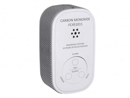 Kohlenmonoxid-Melder 10 Jahres Batterie & 10-Jahres Sensor Gasmelder CO-Melder - Vorschau 2