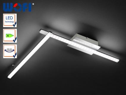 LED Deckenleuchte Chrom poliert, verstellbar, Wofi-Leuchten