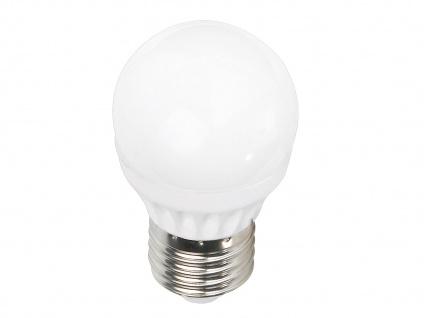 Nicht dimmbares E27 LED Leuchtmittel 3er SET warmweiß 4W & 320lm, tropfenförmig