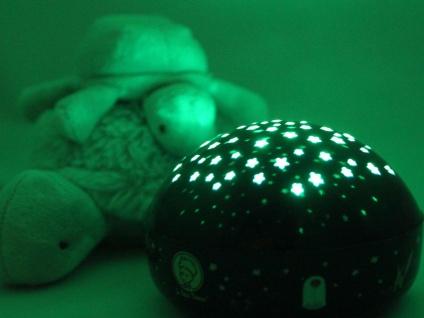 2er Set LED Nachtlicht Baby, projiziert Sterne ins Kinderzimmer Schlummerlampe - Vorschau 3