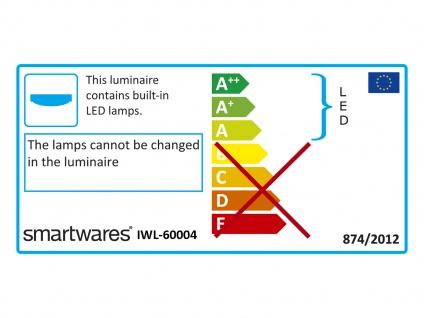 LED Deckenbeleuchtung - Badezimmerleuchte mit 12W & 350Lm in Warmweiß, rund 28 cm - Vorschau 4