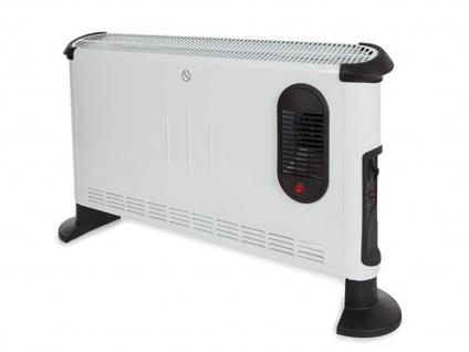 Konvektionsheizkörper Schnellheizer mit Thermostat - Elektro Konvektor 3000 Watt