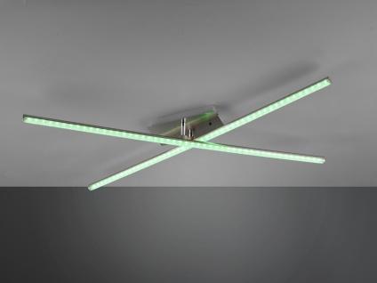 LED Deckenleuchte STRADA mit RGBW Farbwechsler & Fernbedienung, schwenkbare Arme - Vorschau 5