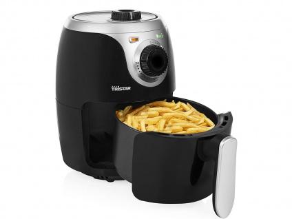 Digitale Heißluftfritteuse XXL Umluft Crispy Fryer ohne Öl, 4, 5 Ltr. 1500Watt
