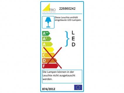 Up & Down LED Außenwandleuche aus ALU in anthrazit Kubus Gartenlicht IP54, H 8cm - Vorschau 4