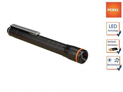 Taschenlampe mit Befestigungsclip, LED Penlight für Beruf, Freizeit und Hobby