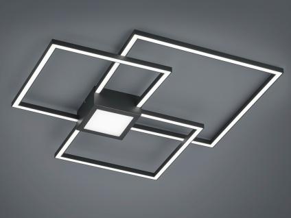 Ausgefallene LED Deckenlampe, schöne Deckenleuchte fürs Wohnzimmer & große Räume