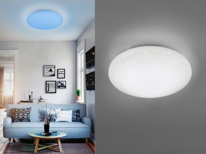 Dimmbare LED Deckenleuchte smarte Lichtsteuerung WIZ Ø 27cm Schlafzimmerlampe