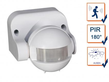 180 Grad PIR Bewegungsmelder für Außenbereich - Radar Sensor für Lampen & Alarme