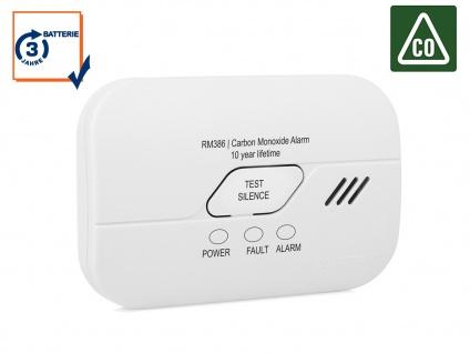 Kohlenmonoxid-Melder mit 3 Jahres Batterie, 10-Jahres Sensor Gasmelder CO-Melder