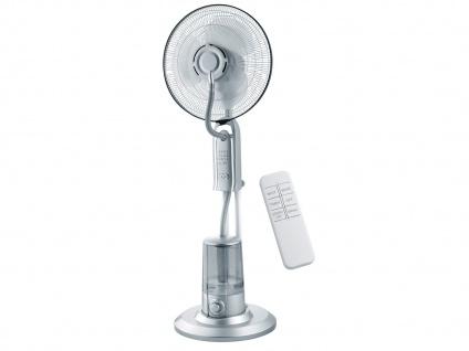 Standventilator mit Sprühnebel Kühlfunktion & Fernbedienung Lüfter Wasserkühlung - Vorschau 2