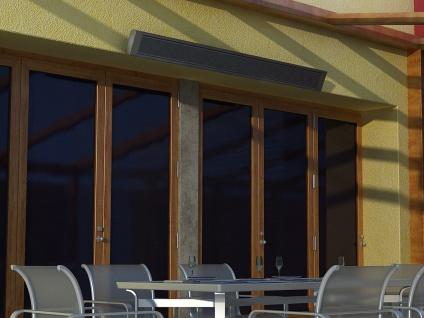 1000W Terrassen-Heizkörper, Infrarotheizung für Außen, beheizt 25-50m³