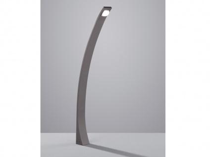 LED Außenleuchte Anthrazit modern Wegeleuchte Wegbeleuchtung Gartenbeleuchtung