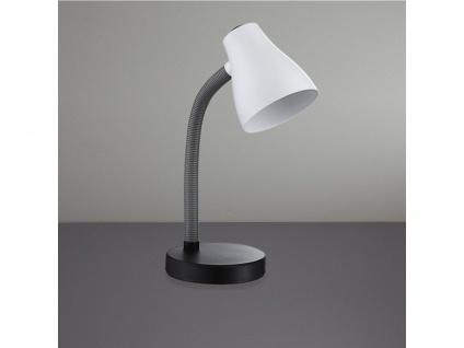 Moderne Tischleuchte REYK in schwarz / weiß, Action by Wofi