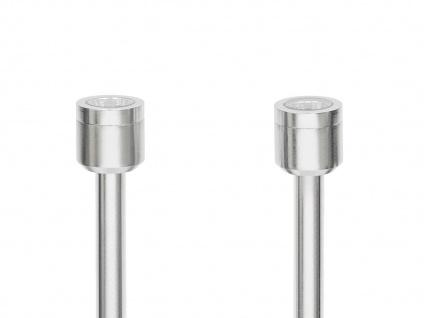 2er-Set LED-Erdspießstrahler / Gartenstrahler MONZA 77cm Aluminium, 3W, IP44 - Vorschau 3
