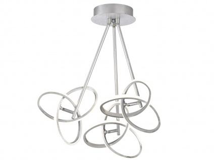 LED Deckenleuchte Blattsilber-Optik 39W verstellbar - Designerleuchte Esszimmer