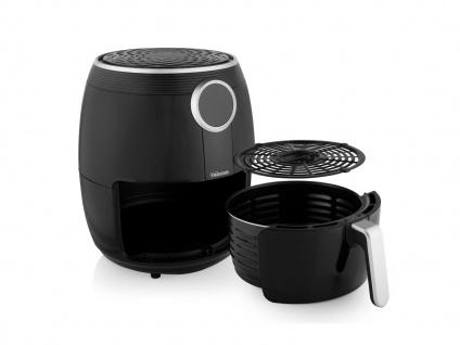 Heißluftfritteuse & 3tlg Zubehörset - Friteuse ohne Öl 4, 5Ltr. Fritöse 1500 Watt - Vorschau 3
