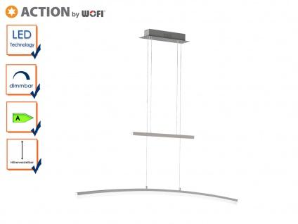 LED Pendel FERROL, höhenverstellbar, dimmbar, Hängelampe Pendelleuchte LED