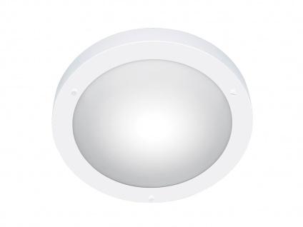 Bad-Deckenleuchte Ø 32cm, IP44, weiß / Glas matt, Trio-Leuchten