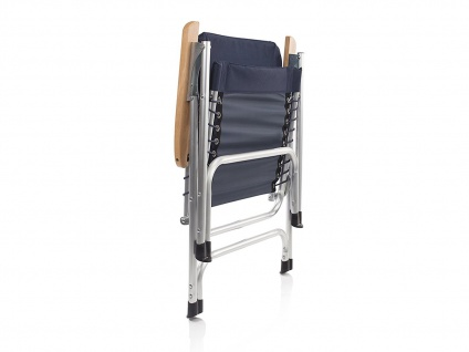 SET für 2 Personen stabiler klappbarer Campingtisch höhenverstellbar Regiestühle - Vorschau 5