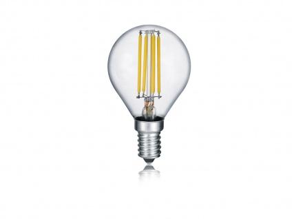 Tropfenförmiges LED Leuchtmittel mit E14 Fassung, 4Watt & 470 Lumen in Warmweiß