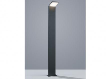 Moderne LED Pollerleuchte in Anthrazit 100cm - Wegeleuchte Terrassenbeleuchtung