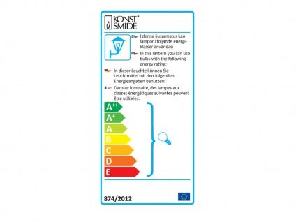 2er Set Konstsmide LED Mastleuchte Wegeleuchte MODE, bruchsicher, Lampe außen - Vorschau 2