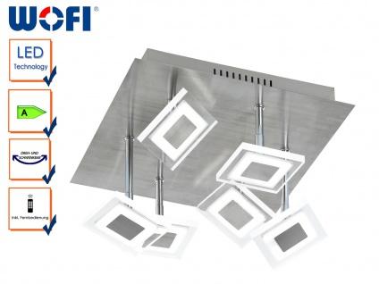 LED Deckenleuchte MEGAN, Fernbedienung Farbwechsel Dimmer, LED Deckenlampe