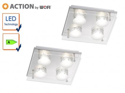 2er Set LED Deckenleuchte ENVY, 22 x 22 cm, LED Deckenlampen Deckenleuchten - Vorschau 1