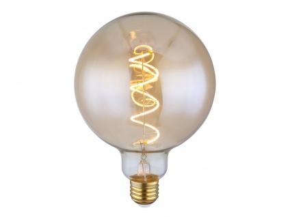 E27 Retro Design Filament LED Leuchtmittel Kugel 4 Watt dimmbar - Globe Ø 12, 5cm