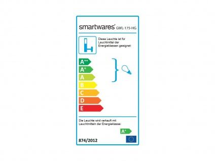 Downlight Außenwandleuchte IP44, inkl. 3W LED 230 Lumen, GU10-Sockel - Vorschau 4