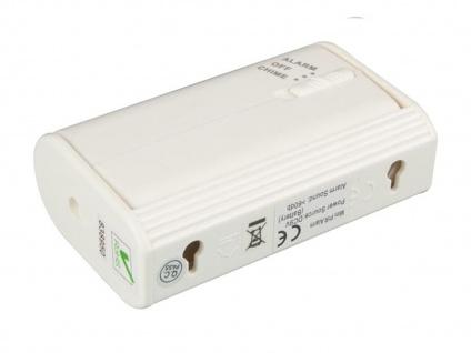 PIR-Bewegungsmelder mit Alarm, 8m/60°, Kleiner Bewegungsmelder Sensor Melder - Vorschau 3