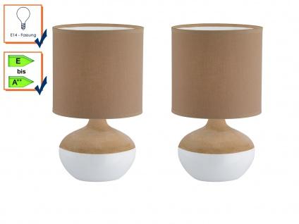 Tischlampe Tischleuchten Tischlampen NORWICH 2er Set Honsel Leuchten