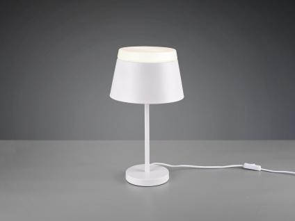 Ausgefallene Nachtischlampen für Schlafzimmer, moderne Flurlampen weiß matt rund